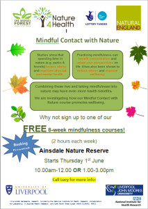 Mindful contact in nature copy